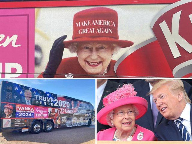 Pallati mbretëror i bën thirrje Donald Trump-it: Hiq nga autobusi