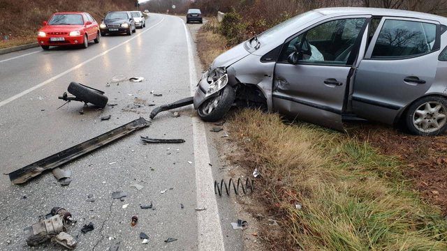 Serious accident in Lushnja. Daughter and father lose their lives