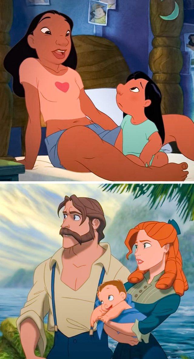 Pse personazhet e Disney-t nuk kanë nëna?
