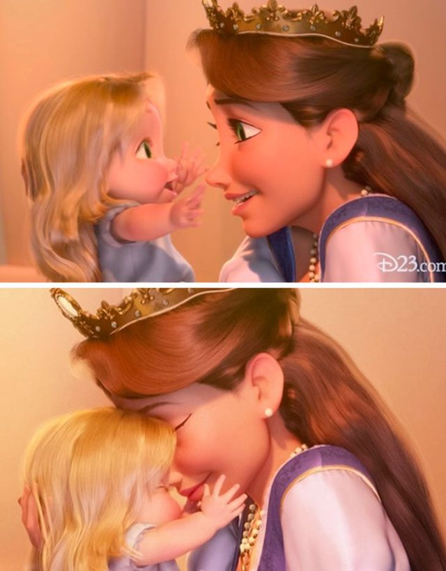 Why do Disney characters not have mothers?
