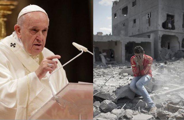Papa për konfliktin në Gaza: Ku do na çojë urrejtja dhe