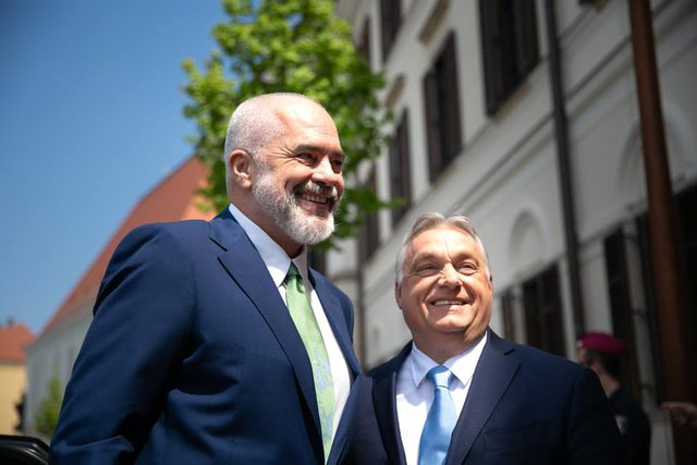Hungary, the first EU country to reach an agreement with Albania on the
