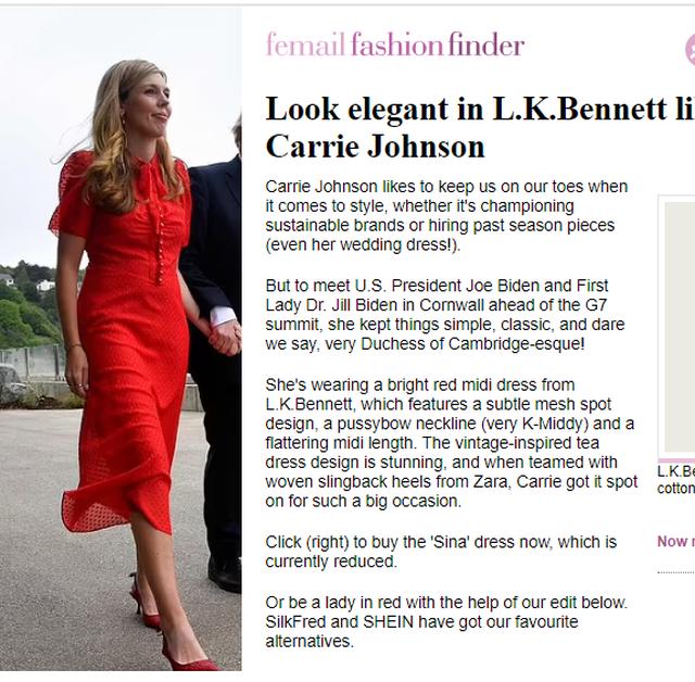 Nga këpucët Zara tek fustani i kuq, detajet nga veshja e Carrie