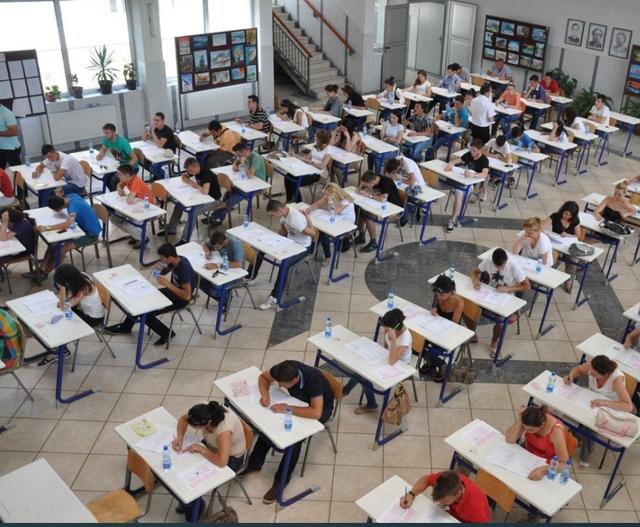 The third Matura exam today, graduates are tested in Mathematics
