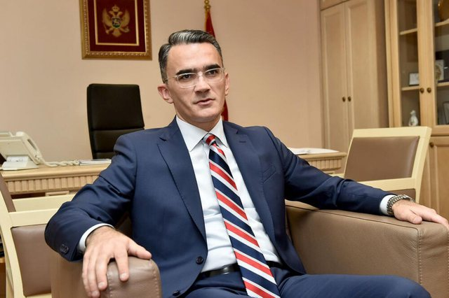 The Montenegrin Minister of Justice is fired after the statement on the