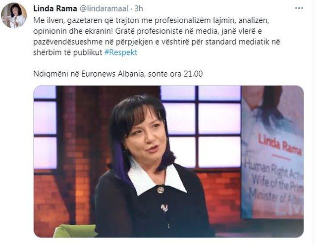 Linda Rama exclusive interview for Ilva Taren: Professional women in the media