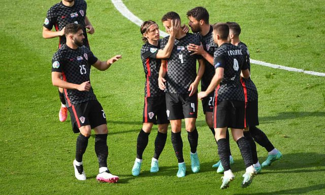 Croatia and the Czech Republic split in the draw, leaving the issue of