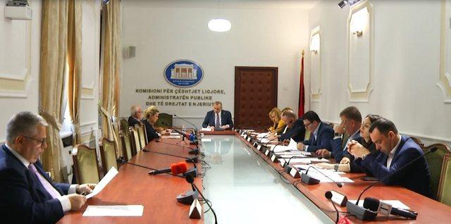 Dy vende pune për komisionerë në Komisionin e Ligjeve