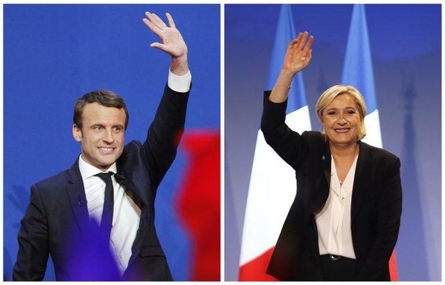 Macron dhe Le Pen rishikojnë strategjitë për përballjen