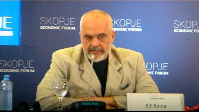 Rama pyetet për çështjen e kufirit detar me Greqinë dhe