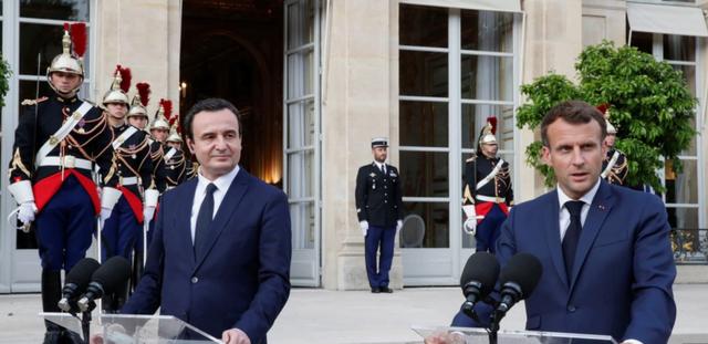 Takim Kurti-Macron në Paris: Kosova dhe Serbia të gjejnë një
