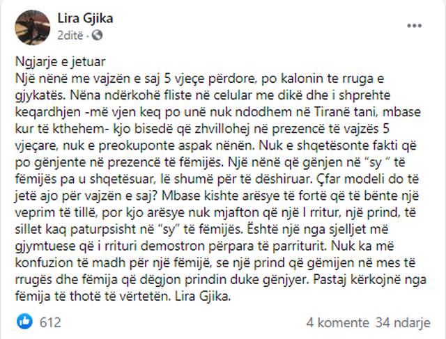 'Më vjen keq po s`ndodhem në Tiranë'. Gënjeshtra