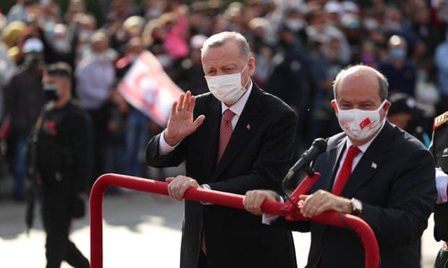 Erdogan viziton Qipron e Veriut: E vetmja rrugë për paqen