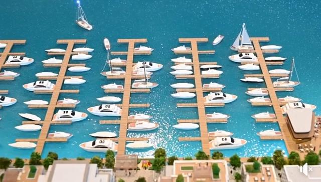 Video/ Kështu do të duket Porti i Ri i Durrësit