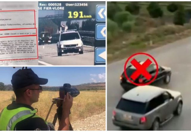 Shpejtësi mbi 190 km/h, arrestohen 18 drejtues mjetesh në 24 orët