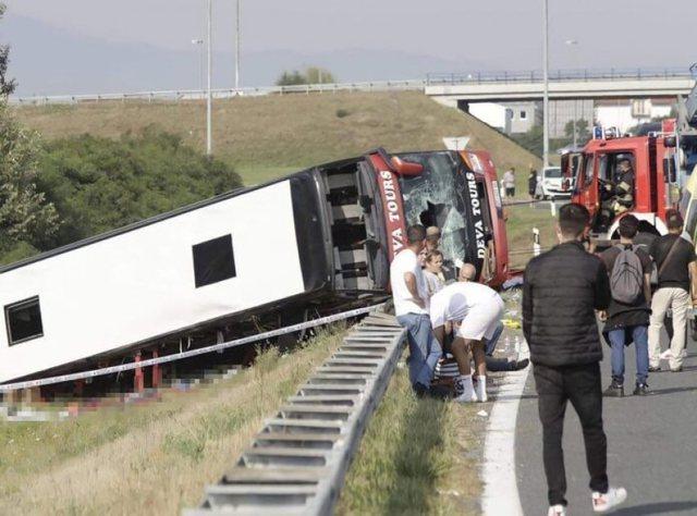 Sa vite mund të dënohet shoferi që e zuri gjumi dhe shkaktoi