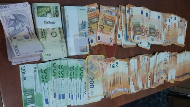 Over 67 thousand undeclared euros at the border, a 67-year-old man from Lushnja