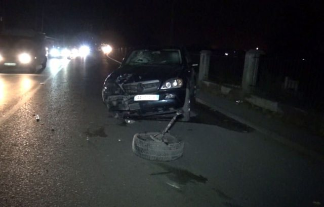 Serious accident in Shkodra! High-speed cars go off the road, two young people
