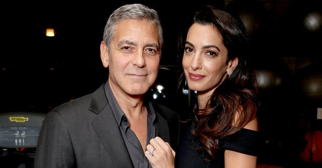 Rumor has been circulating for days about the couple Amal and George Clooney