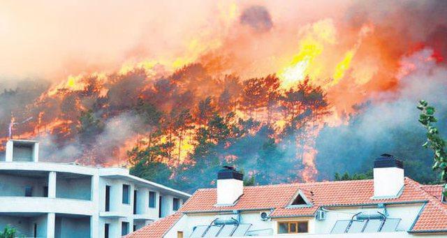 Pamje apokaliptike nga Turqia nën zjarr: Po na digjet çdo gjë