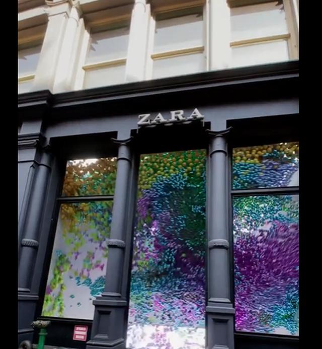 Video/ A është kjo e ardhmja e vitrinave digitale?! Artisti Shanef3d