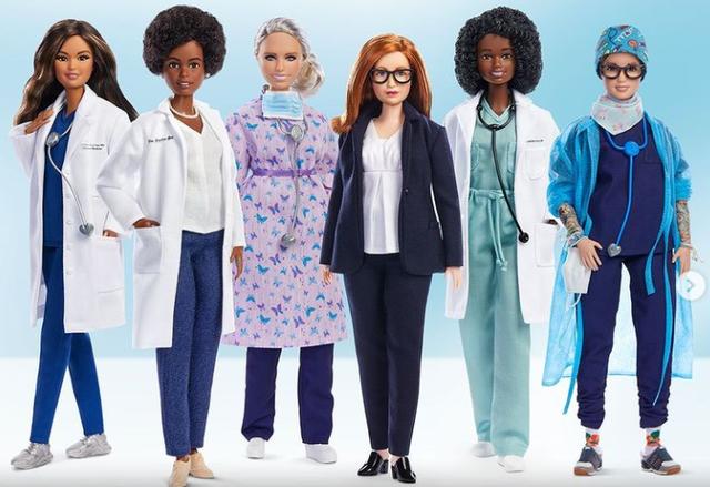 Kukulla Barbie nuk është më modele. Ajo ka krijuar vaksinën