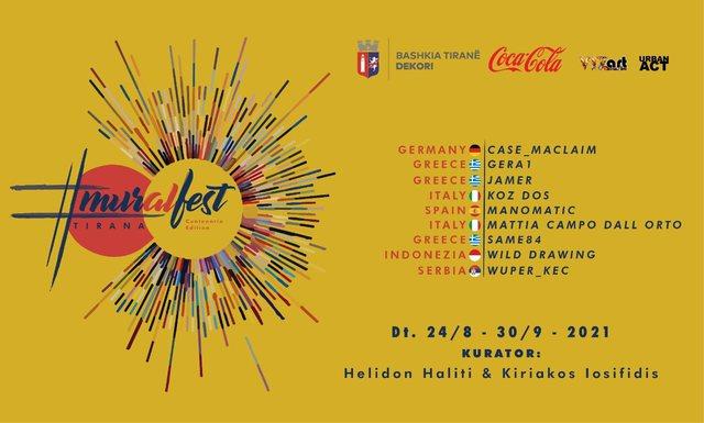 Rikthehet Mural Fest Tirana! Artistë urbanë nga e gjithë bota do