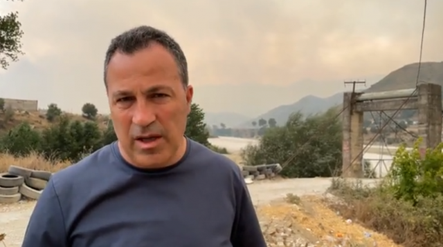 Zjarret në Selenicë/ Banorët e Gjormit dhe të Gumenicës