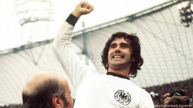 German football legend Gerd Muller is passing away