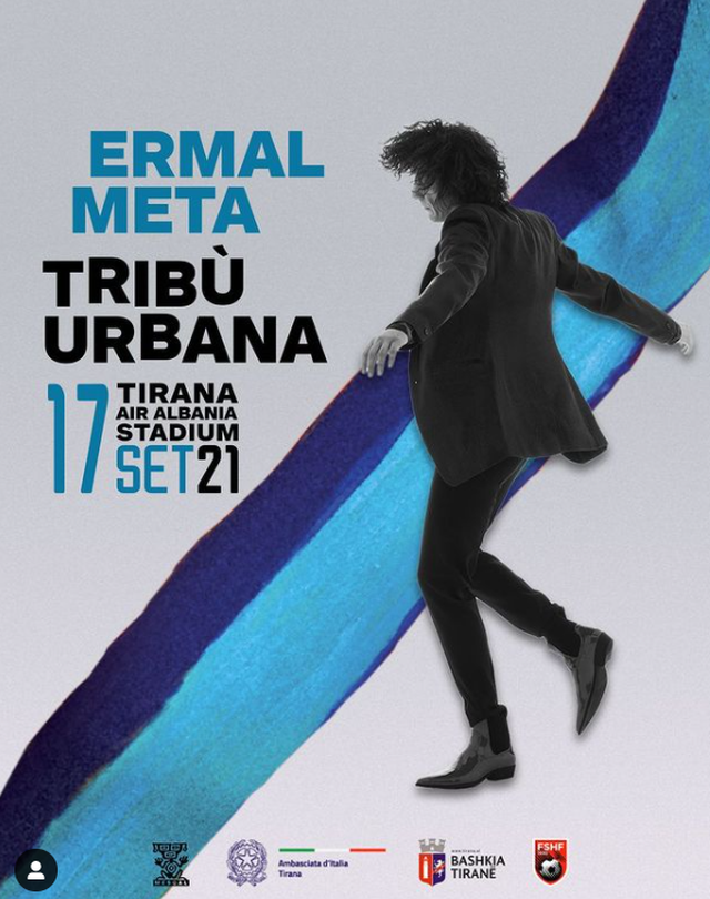 Ermal Meta concert in Tirana, here is the link where you can book your place