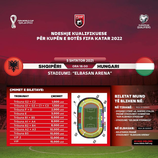 AFF publishes ticket prices and stadium capacity for the national team to face