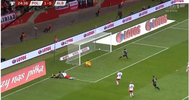 Poland-Albania / Cikalleshi notes, get acquainted with the result so far
