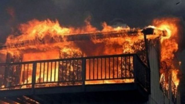 The house in Gjakova is on fire, two juvenile victims are suspected
