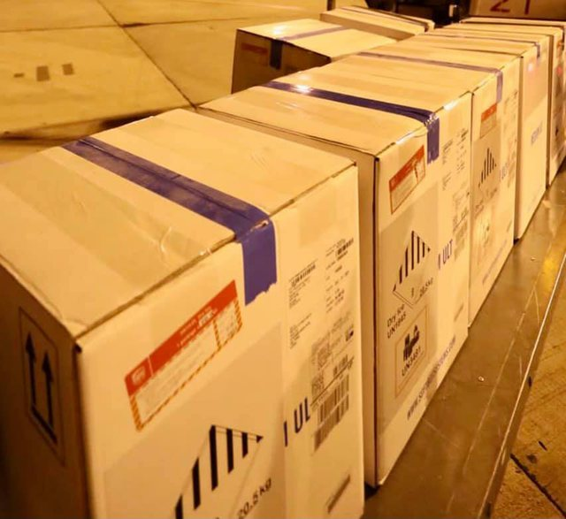 Other Pfizer vaccines arrive in Rinas