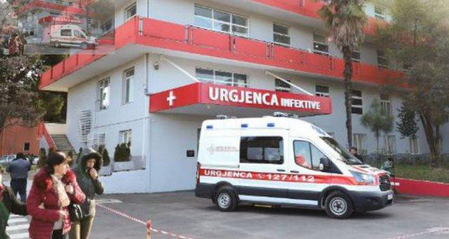 Rritet numri i hospitalizimeve në spitalet Covid, ezaurohen rreth 70% e