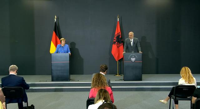 """Përgjigja """"shumë Merkel"""" kur Rama e fton që në"""