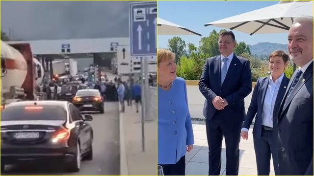 Video with the Montenegrin prime minister returning to the border. How did he