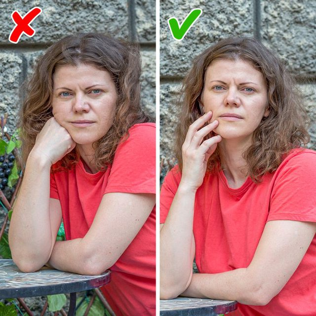 10 little tricks to look more beautiful in the photo