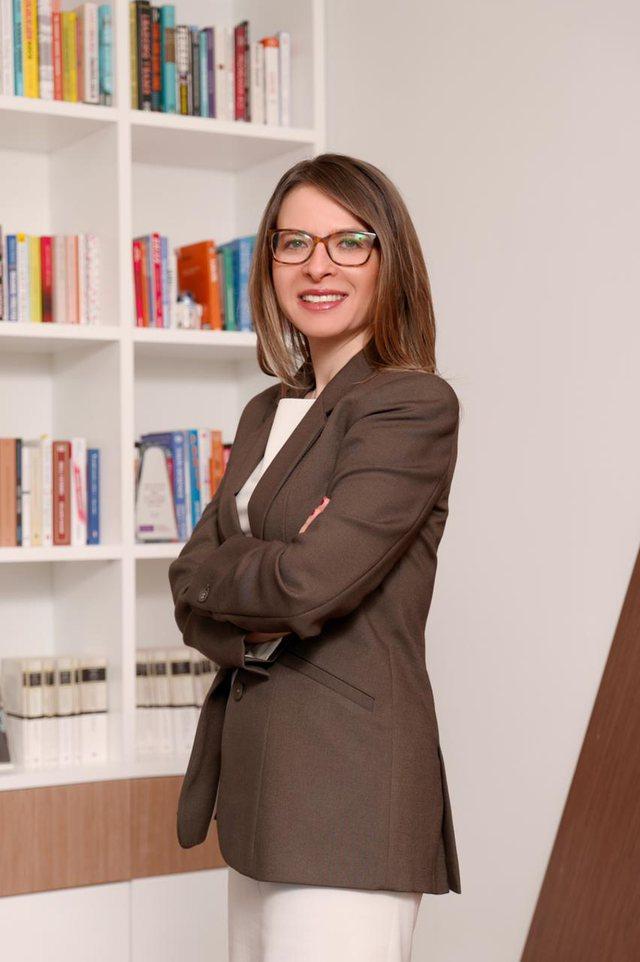 Bilgen Aldan, CEO of ALBtelecom the first woman to head the International
