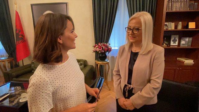 Intervista e parë si kryetare e Parlamentit, Lindita Nikolla: Formula ime