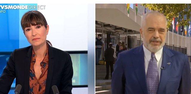 Intervista e Edi Ramës për televizionin francez: Do vazhdojmë