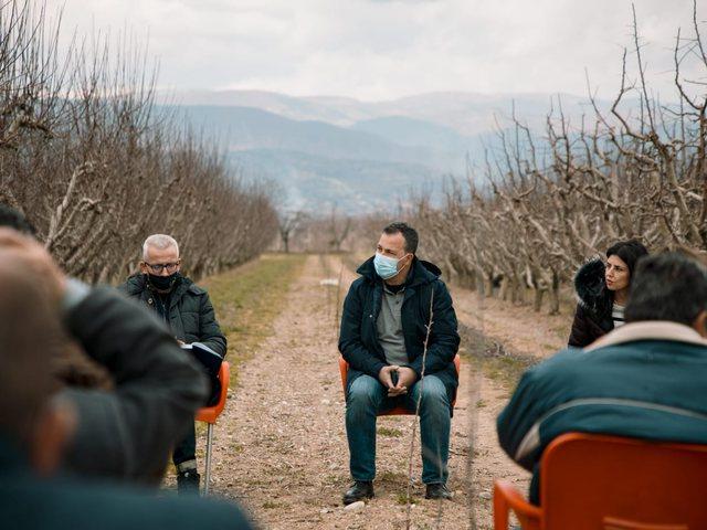 Takim me fermerët në Dvoran, Peleshi: Aplikoni për të