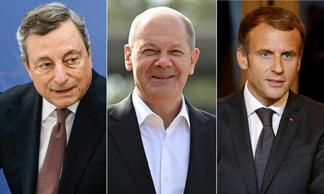 Draghi, Scholz or Macron? Who will be the new leader of Europe after Merkel