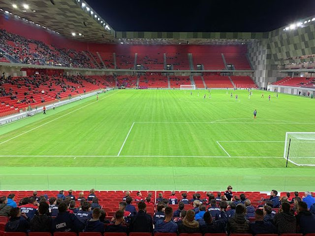 What should the fans who will watch the Albania-Poland match in the stadium