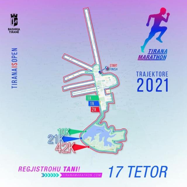 A few more days from the Tirana Marathon / By Aurela Gaçe and Soni Malaj,