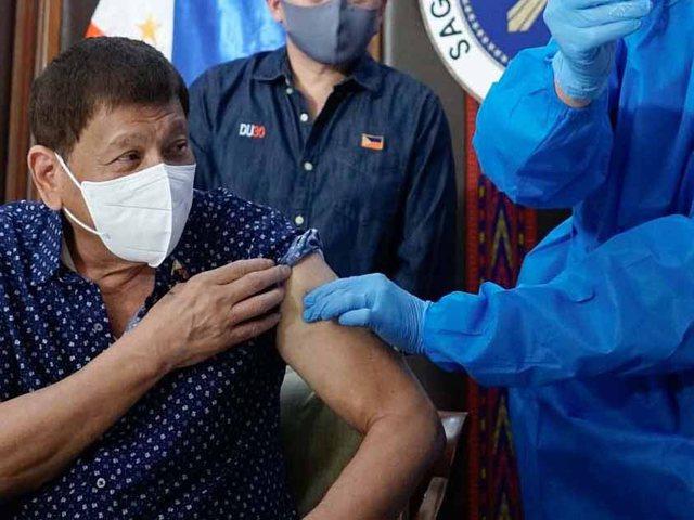 Philippine President on anti-Covid vaccine skeptics: We will come home to