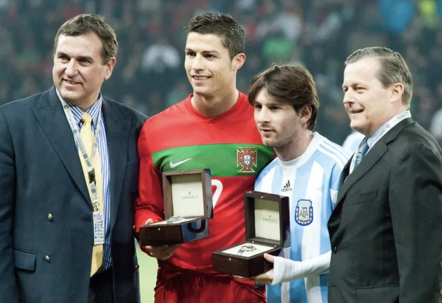 Soccer stars: Famous because they are rich, or rich because they are famous?