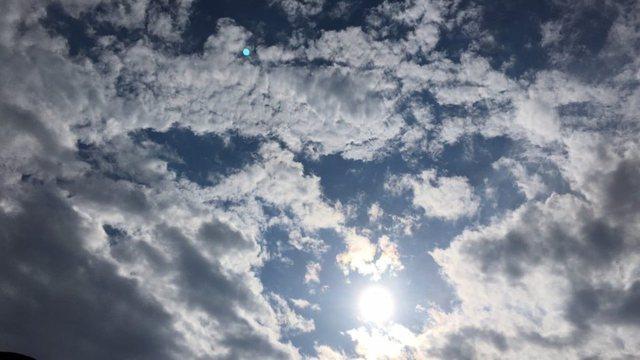 Moti sot, vranësira dhe shi në disa zona