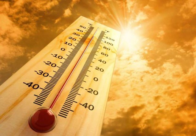 Heat even today. See the temperature chart in each city