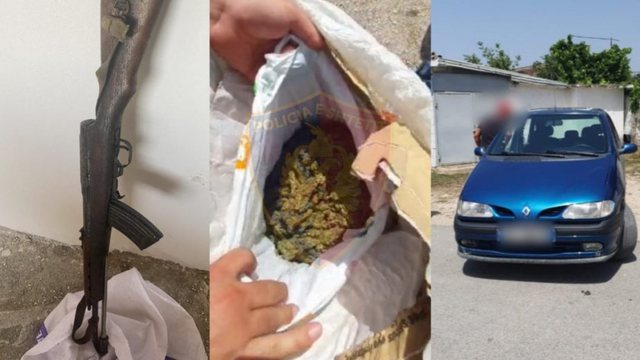 The houses were filled with hashish, 6 arrested in Kruja